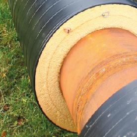 District heating pipe