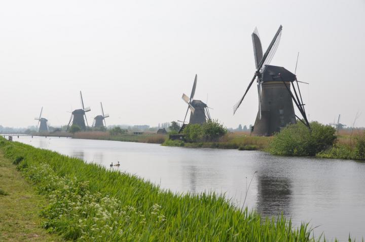 Gammeldags vindmøller