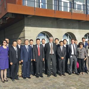 Two Chinese delegations are right now visiting Denmark